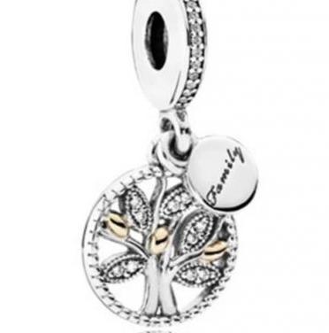 Charm - abalorio árbol de la vida plata 925
