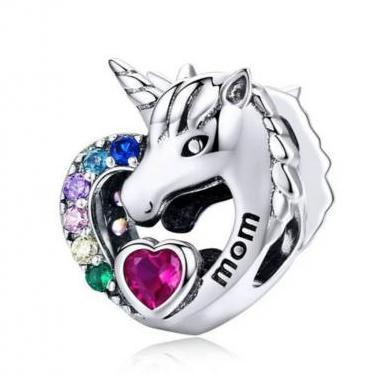 Charms -abalorio unicornio pulsera pandora