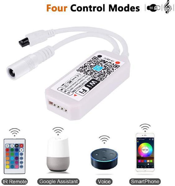 Controlador tira led rgb wifi