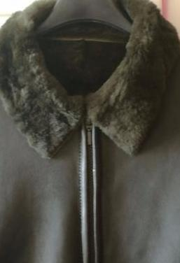 Corte ingles chaquetón piel verde mujer