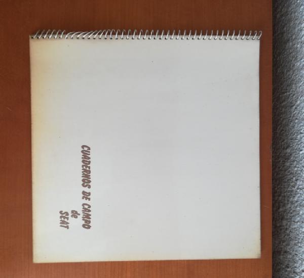 Cuadernos de campo seat 127 lanzarote canarias - año 1981 -