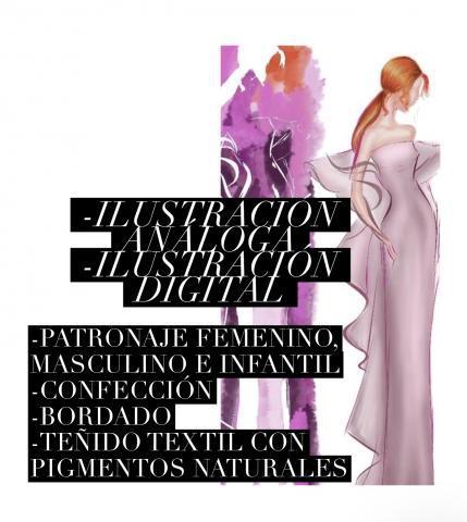 Cursos de diseño, moda, costura y textil