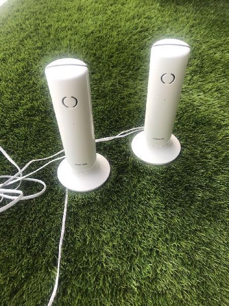 Duo de teléfonos inalámbricos