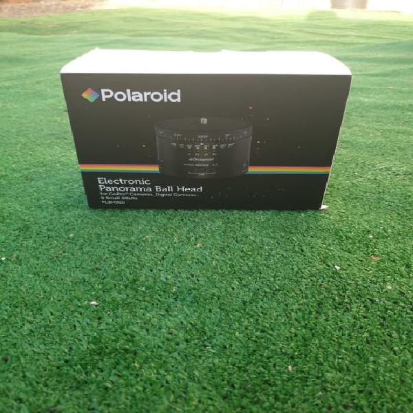 Electronic panorama ball head (polaroid)