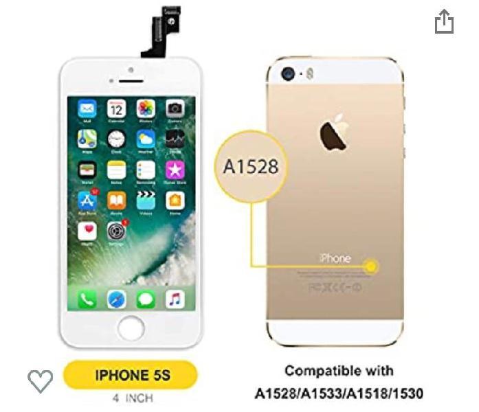 Lcd pantalla para iphone 5s/se a1528