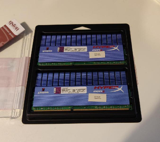 Memoria kingston hyperx 8gb ddr3 t1 serie testeada