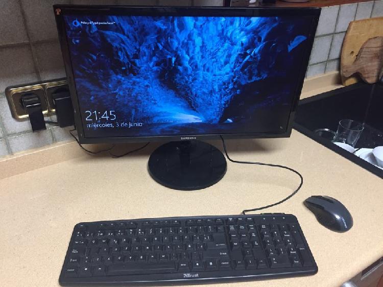 Ordenador ofimática minix neo-n42c-4 y pantalla