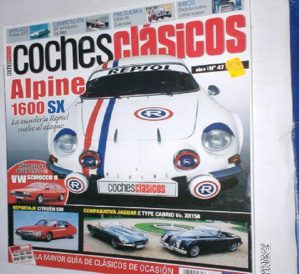 Revista coches clasicos nº47 año v (2009) alpine