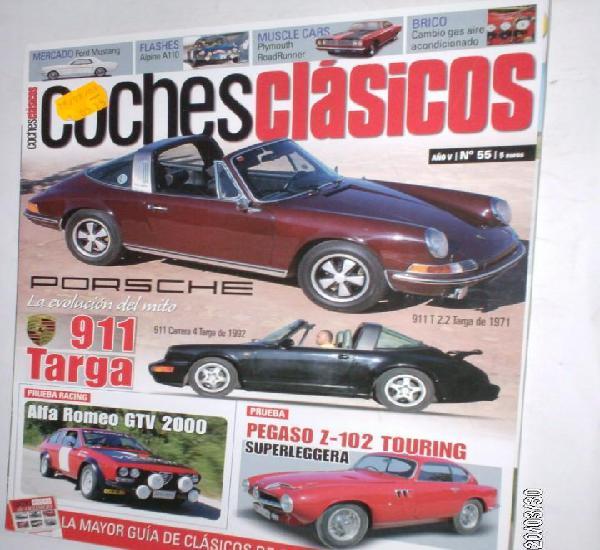 Revista coches clasicos nº55 año v (2009) porsche 911
