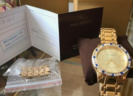Reloj mark maddox golden chic