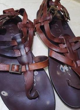 Sandalias piel mujer t38 envio gratis