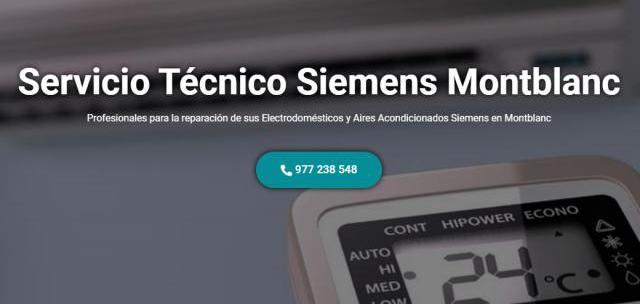 Servicio técnico siemens montblanc 977208381