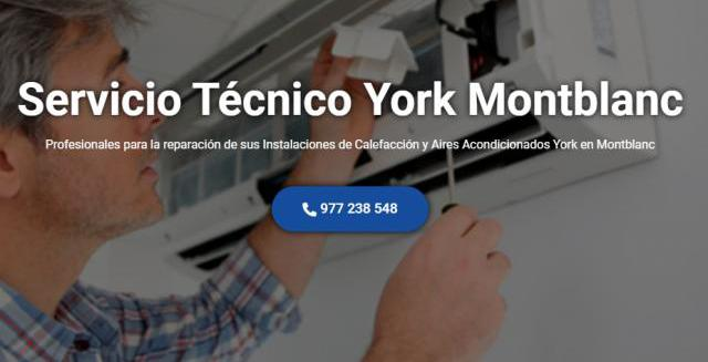 Servicio técnico york montblanc 977208381