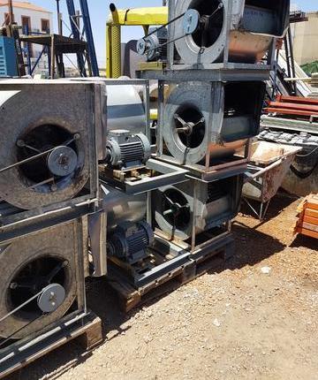 Turbinas extratoras de humos