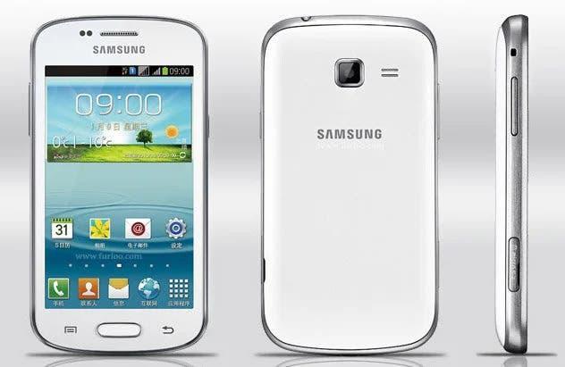 Teléfono móvil samsung galaxy trend plus