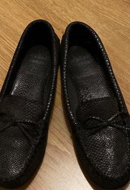 Zapatos mocasines piel mujer 38