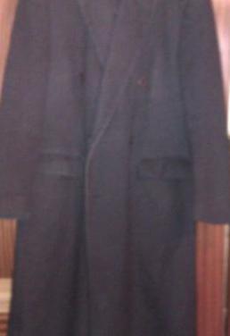 Abrigo largo cachemir y lana, cortefiel
