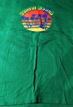 Camiseta de green coast, talla l