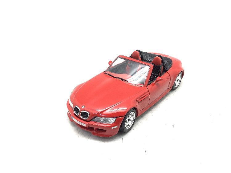 Coche metal bburago bmw m roadster (1996)