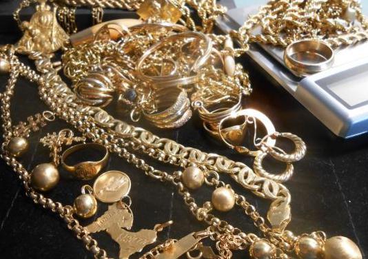 Compro tu oro a 25 el gramo