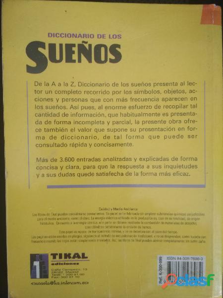 Diccionario de SUEÑOS 1