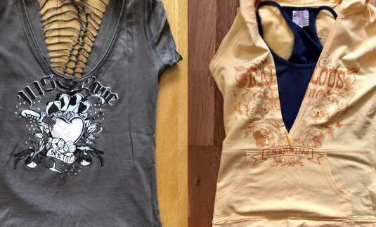 Dos camisetas chica