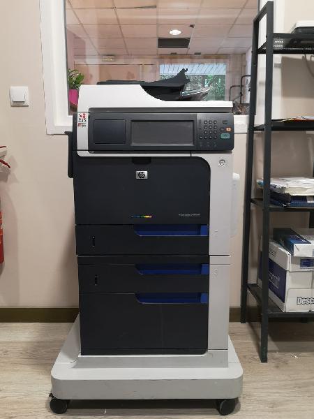 Impresora semi nueva hp color laserjet cm4540 mfp