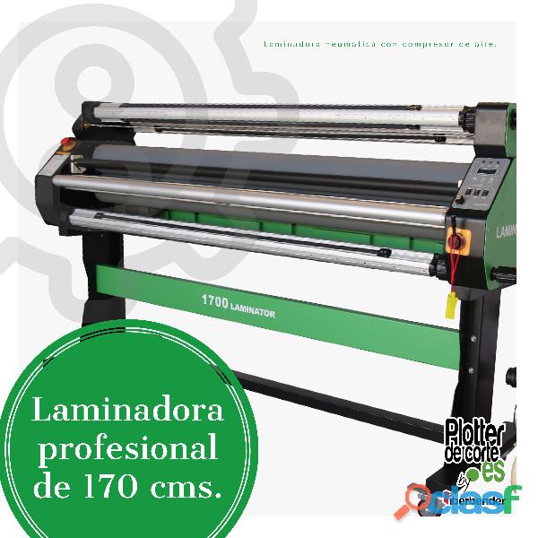 LAMINADORA NEUMATICA DE 1.70 CON COMPRESOR DE AIRE