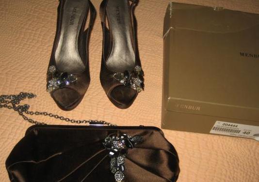 Menbur, talla 40, zapatos y bolso