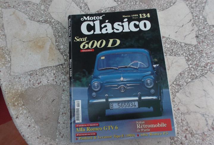 Motor clasico nº 134, seat 600, orugas mecanicas, alfa