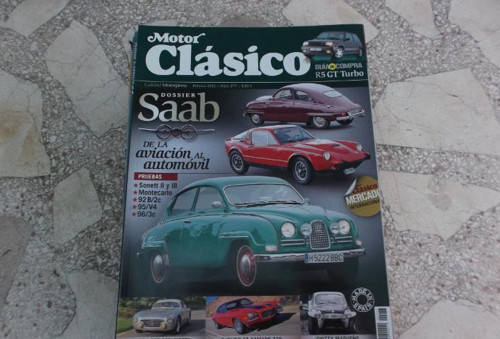 Motor clasico nº 277, dossier saab,abarth 205