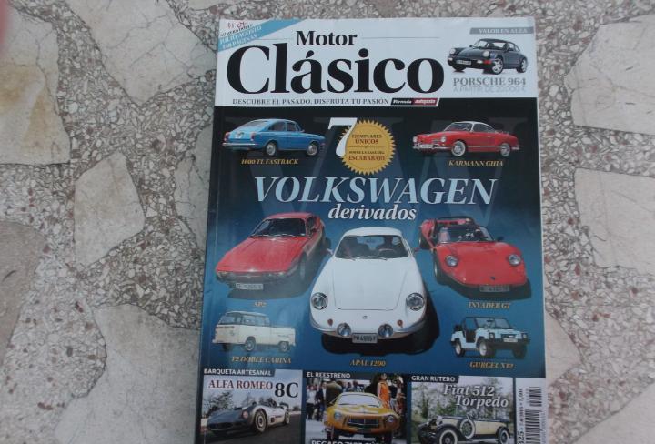Motor clasico nº 325, dossier los otros volkswagen, porche