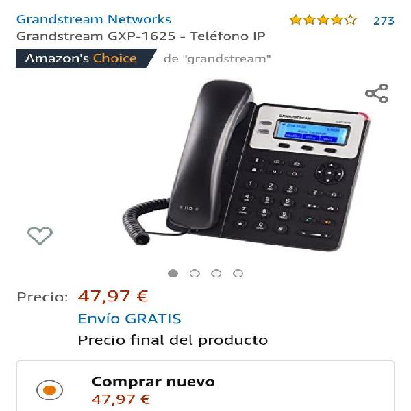 Teléfono fijo oficinista ip nuevo