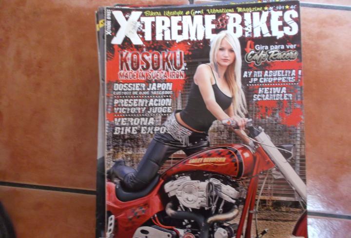 X treme bikes nº 101, harley davidson,kosoku,ward bird,ay