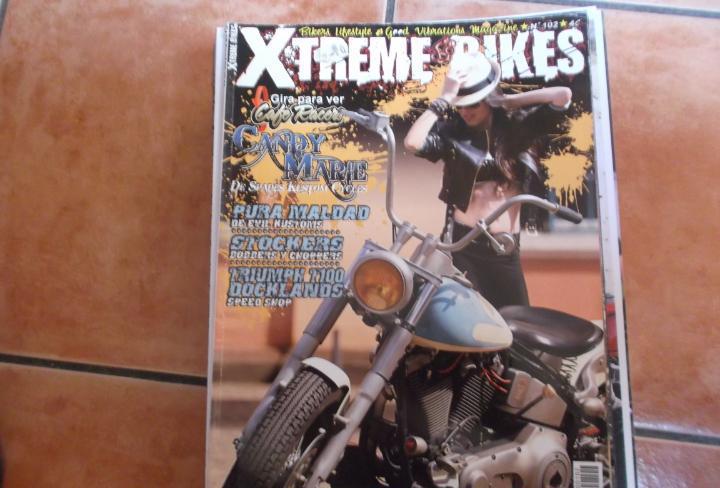 X treme bikes nº 102,2 revistas en 1 la otra cafe racers,