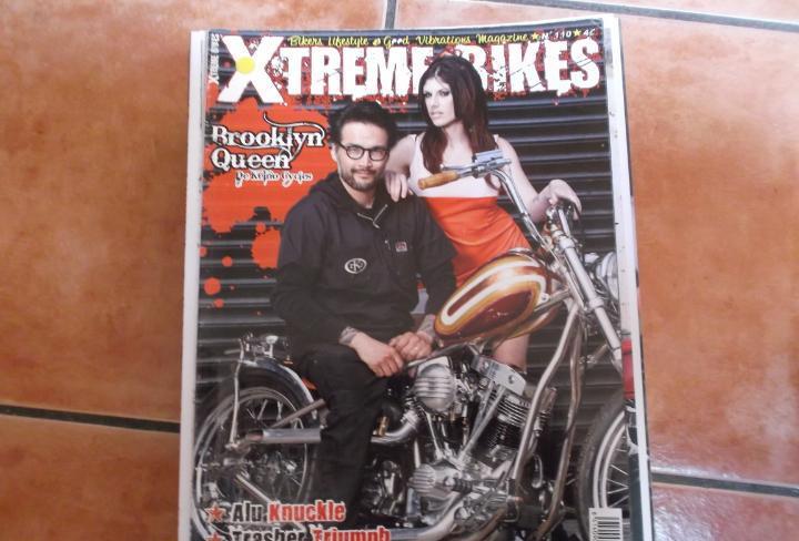 X treme bikes nº 110, 2 revistas en 1 la otra cafe racers,