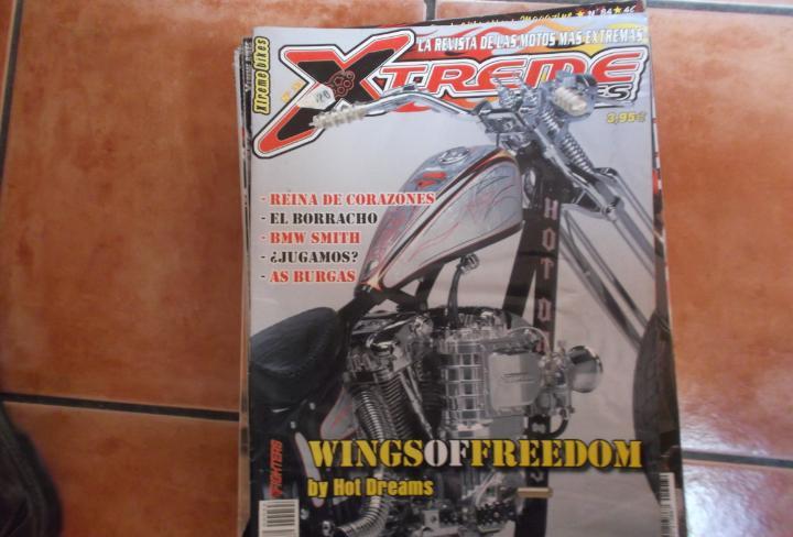 X treme bikes nº 33, wingsof freedom,bmw smith,deep bull,el