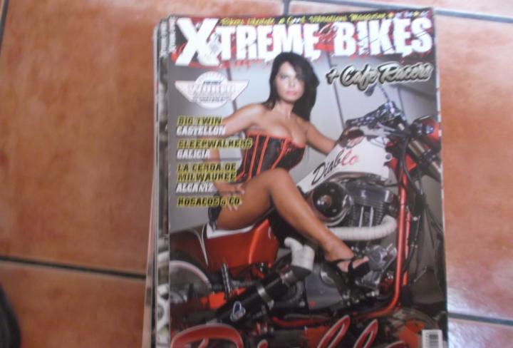 X treme bikes nº 84, diablo,yron bobber, big twin,la