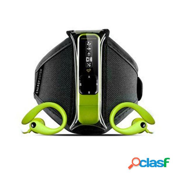 Reproductor mp3 energy active 2 4gb neon green