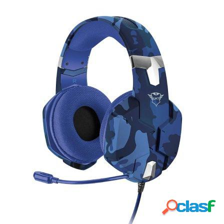 Auriculares con microfono trust gaming gxt 322b carus - drivers 50mm -