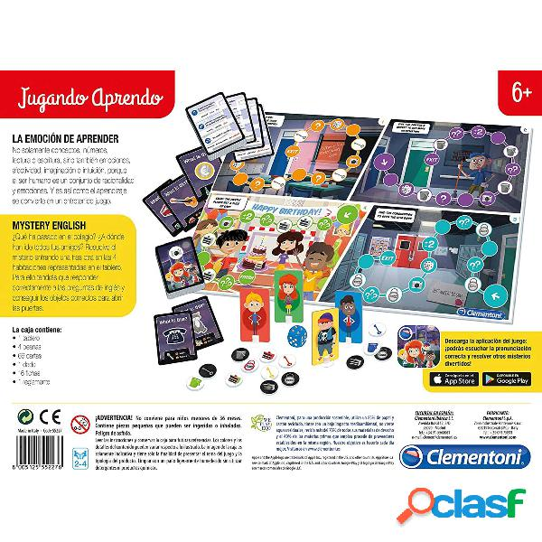 Juego aprende ingles mystery english