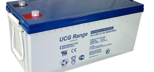 Batería de gel 12v 275ah c10 ultracell ucg