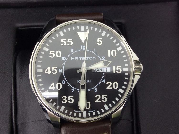 Reloj alta gama caballero hamilton h646110