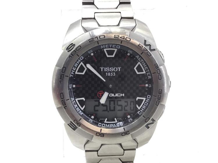 Reloj alta gama caballero tissot touch expert t013420a