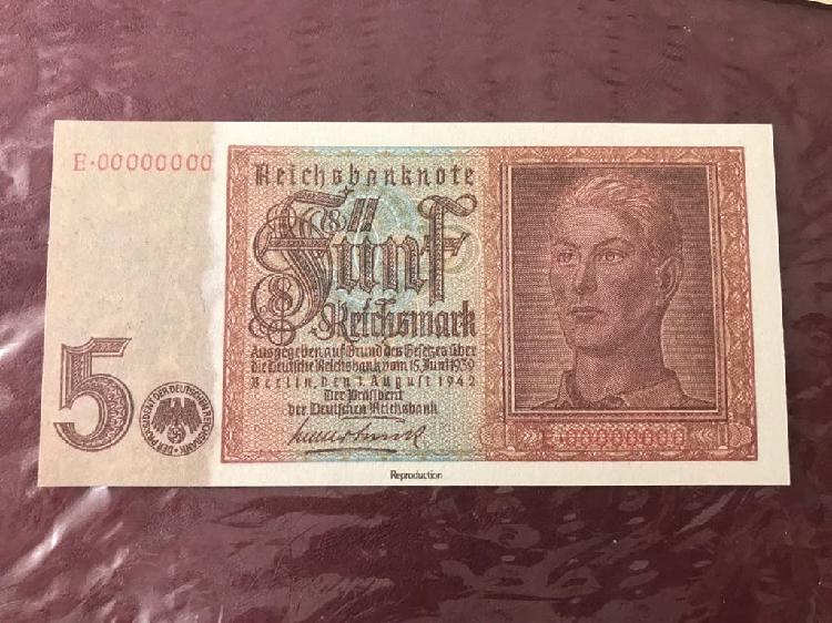 5 reichmarks 1942