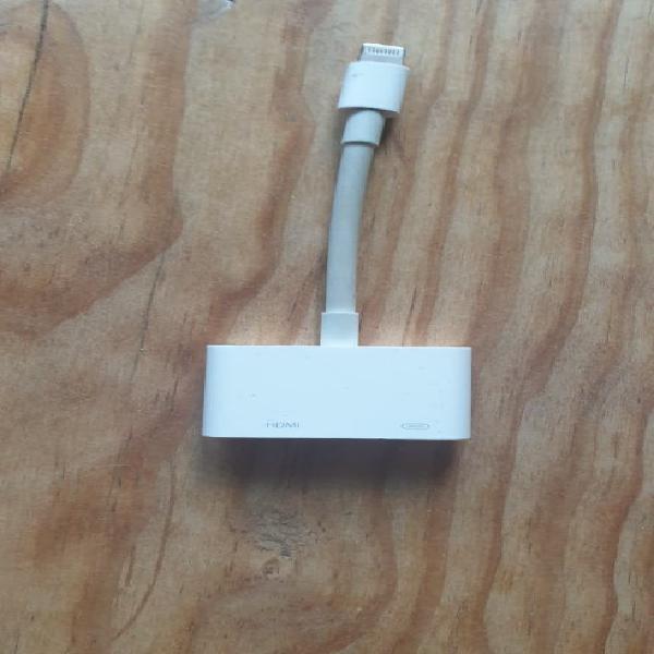 Adaptador lightning a av digital - apple md826zm/a
