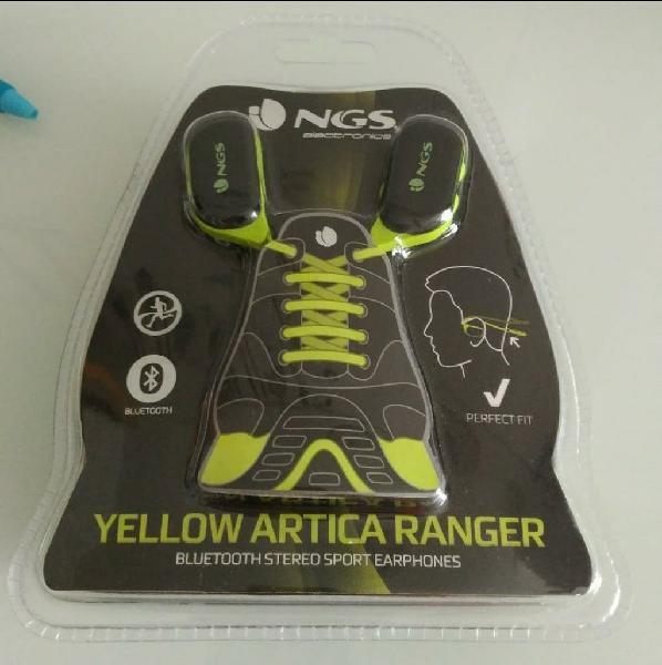 Auriculares deportivos ngs yellow artica ranger