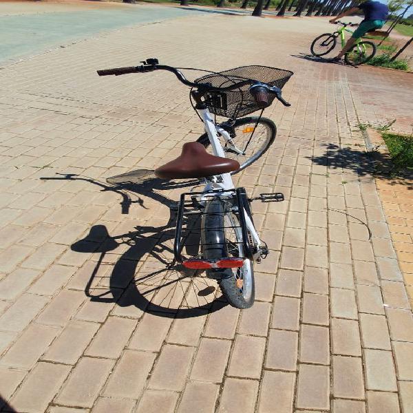 Bicicleta de paseo mujer city 30