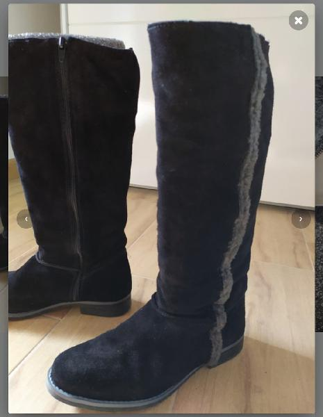 Botas altas piel