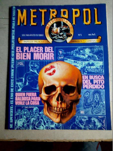 Comic adultos metropol nº 3 año 1983